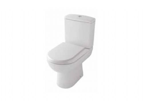Eastbrook Dura Back To Wall Close Coupled Toilet & Soft Close Seat